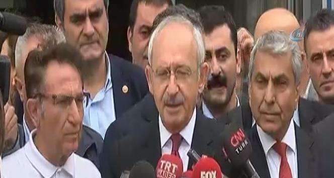 Kılıçdaroğlu, Sözcü gazetesini ziyaret etti
