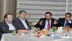 Rektör Mehmet Akgül, işadamlarıyla buluştu