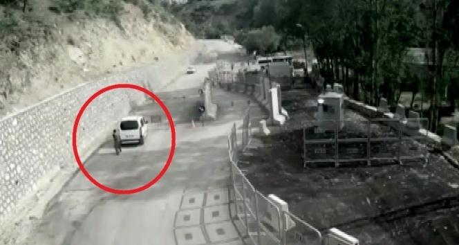 Polis noktasına saldıran terörist böyle öldürüldü