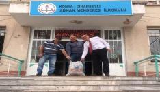 Cihanbeylide atık pil toplama kampanyası