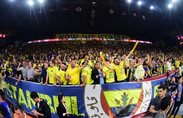Fenerbahçe Real Madrid final four maçı özel kareler