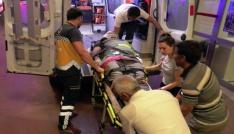 Şanlıurfada otomobil motosiklete çarptı: 1 yaralı