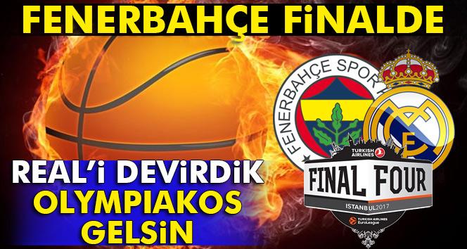ÖZET İZLE: Fenerbahçe 84-75 Real Madrid| -FİNALDEYİZ- Fenerbahçe Real Madrid Avrupa final four basket maçı