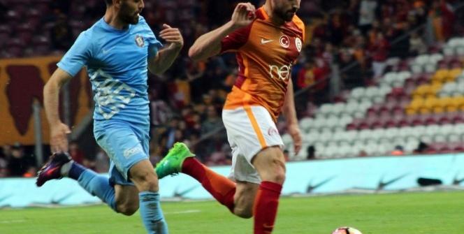 Galatasaray Osmanlıspor maçı foto özet