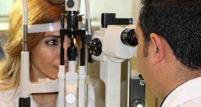 Göz tansiyonu görme kaybına sebep oluyor