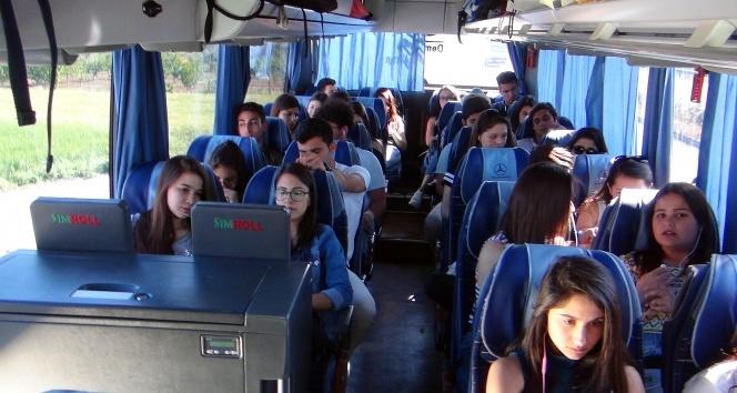 Tur otobüslerinde sıkı denetim