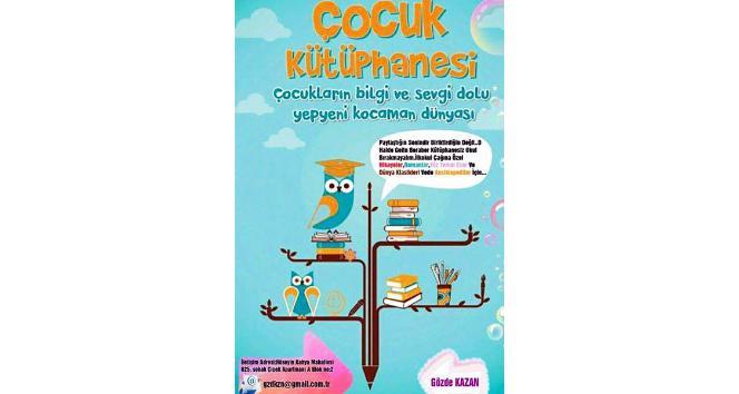 Banka çalışanı Gözde'den, çocuklar için kitap kampanyası