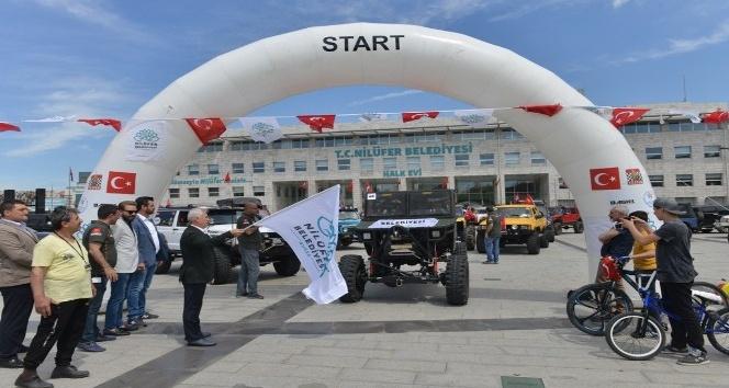 Trial Şampiyonası'nın Nilüfer'deki BASK etabı nefes kesiyor