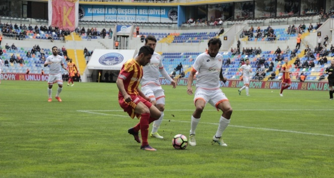 Spor Toto Süper Lig: Kayserispor 1-1 Adanaspor