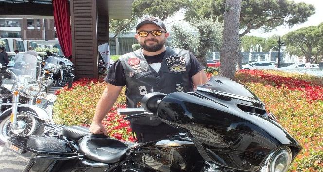 Harley Davidson tutkunları Antalya sürüşüne katıldı