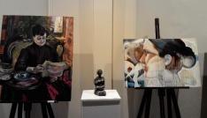Güzel Sanatlar öğrencileri sergisi açıldı