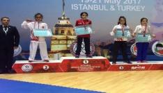 Kağıtsporlu karateciler Balkan Şampiyonasında kürsüde