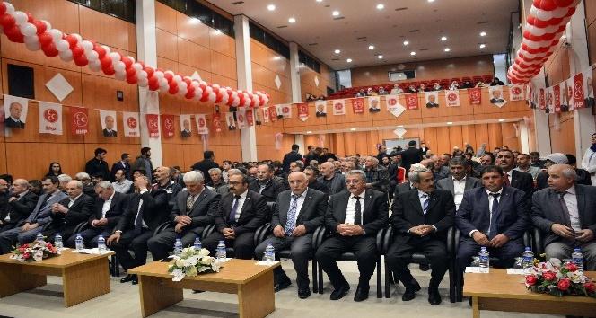 Gümüşhanede MHP İl Kongresi yapıldı