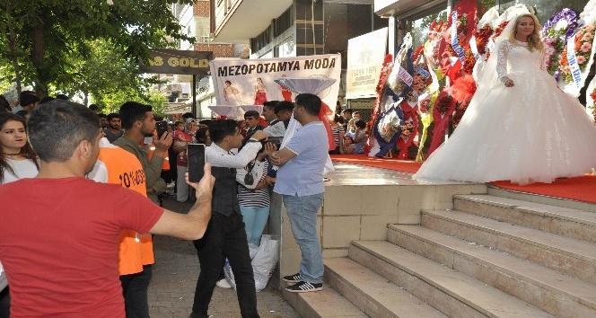 Rus mankenler Diyarbakırı salladı