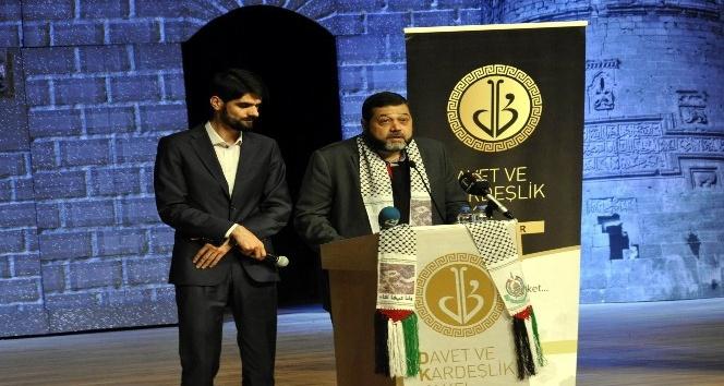 Hamas Dış İlişkiler sorumlusu Hamdan Diyarbakırda