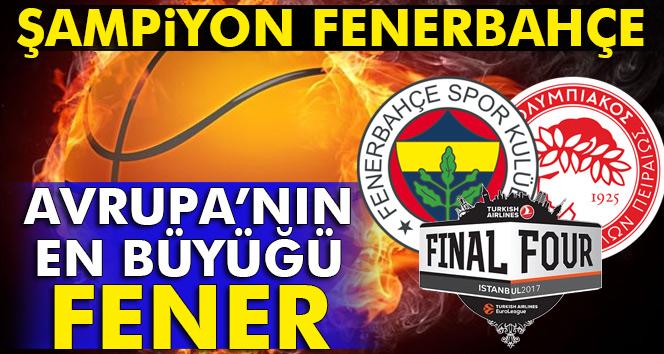 ÖZET İZLE: ŞAMPİYON FENERBAHÇE -Fenerbahçe 80-64 Olympiakos- (Fenerbahçe Olimpiyakos basket maçı özet izle)
