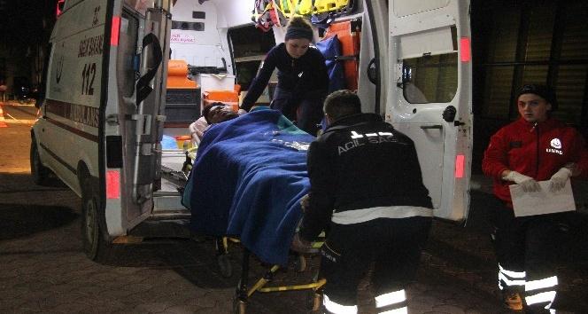 El Babda el yapımı patlayıcı infilak etti: 2 yaralı