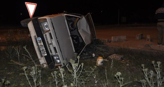 Seydişehirde trafik kazası: 3 Yaralı