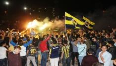İskenderunda Avrupa Şampiyonu Fenerbahçe coşkusu