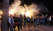 Fenerbahçe'nin Euroleague şampiyonu oldu Ayvalık salladı