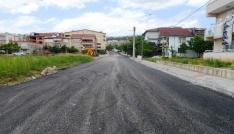 Yeşilova Mahallesine 300 tonluk asfalt çalışması