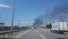 Kocaelinde büyük fabrika yangını