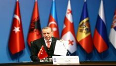 Erdoğan ve liderlerin güldüren Fenerbahçe sohbeti