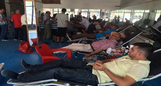 Kuluda kan bağışı kampanyası