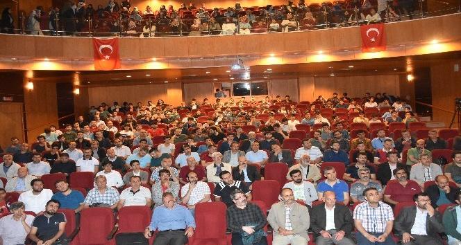Kahtada Sosyal Medya ve Algı yönetimi konferansına yoğun ilgi