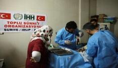 Suriyede bin 100 çocuk sünnet edildi