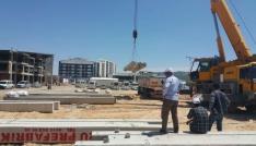 Adıyaman Belediyesi otobüs bakım atölyesi inşasına başladı