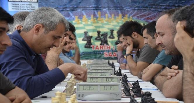 Siverekte satranç turnuvası düzenlendi