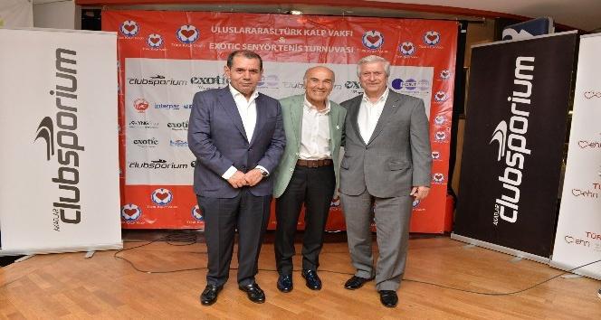 Türk Kalp Vakfı ve Exotic Senyör tenis turnuvası ödül töreni yapıldı