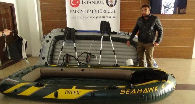 İstanbulda göçmen kaçakçılarına operasyon: 16 göçmen ile 14 organizatör yakalandı