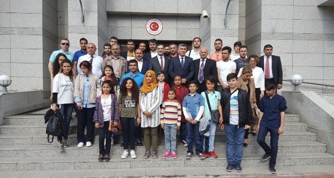 Şanlıurfalı öğrenciler Azerbaycanı gezdi