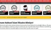 İslam alimlerine hakaret eden imamı Diyanet korumuş