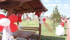 Kocaeliden bin 400 kilometre uzakta kardeşlik parkları açıldı