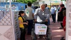 İHHdan 400 Suriyeli aileye yeni gıda yardımı
