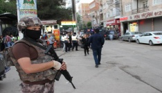 Diyarbakırda 1400 polisle dev huzur operasyonu