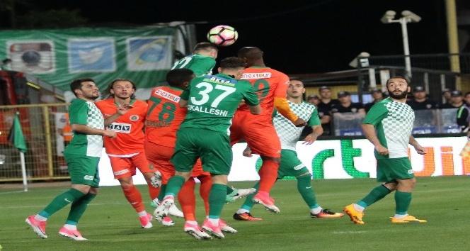 Akhisar Belediyespor-Aytemiz Alanyaspor maçı soyunma odaları