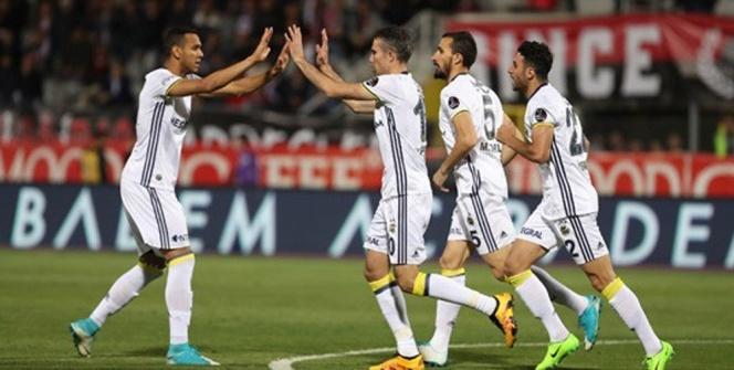 Gençlerbirliği Fenerbahçe maçı foto özet