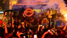 Fenerbahçede coşkulu kutlama