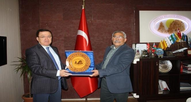 UCLG-MEWA Genel Sekreteri Duman Başkan Karaaslanı ziyaret etti