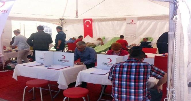 Kırklareli Belediyesinden kan bağışına destek