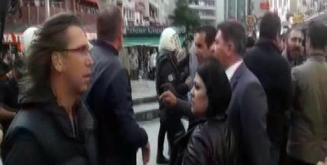 Başkent'te Gülmen ve Özakça protestosuna müdahale