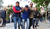 Ankarada protestocu gruba polis müdahalesi: 6 gözaltı