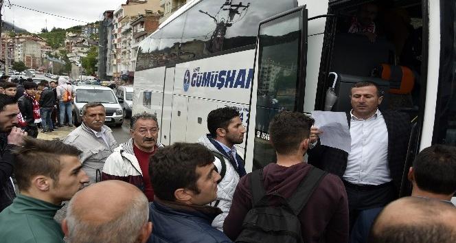 Gümüşhaneliler akın akın İstanbula gidiyor