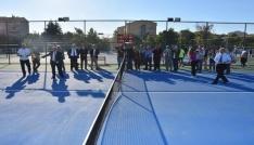 Başkan Albayrak Çorluda tenis kompleksi açılışına katıldı