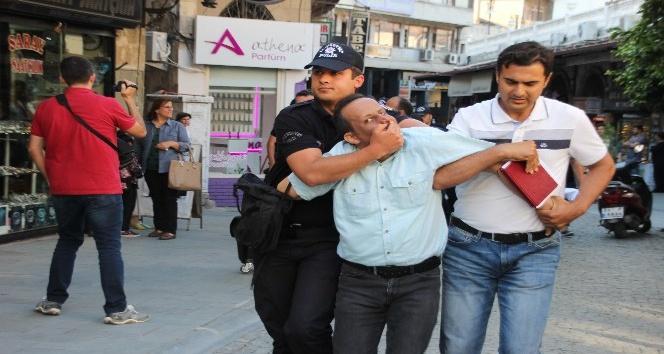 Hatayda izinsiz gösteri yapmak isteyen 18 kişi gözaltına alındı