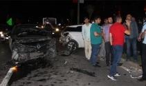 Şanlıurfada zincirleme trafik kazası: 4 yaralı